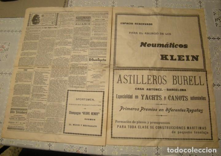 Coleccionismo deportivo: EL MUNDO DEPORTIVO. FASCIMIL DEL NUMERO 1 DEL AÑO 1906. - Foto 5 - 172372577