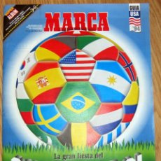 Coleccionismo deportivo: REVISTA GUIA MARCA EXTRA MUNDIAL FUTBOL USA 1994 SUPLEMENTO ESPECIAL FIFA WOLRD CUP GRAN FORMATO. Lote 172394790