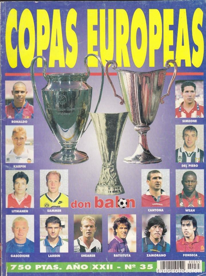 DON BALON COPAS EUROPEAS (Coleccionismo Deportivo - Revistas y Periódicos - Don Balón)