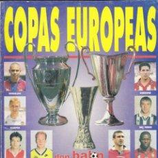 Coleccionismo deportivo: DON BALON COPAS EUROPEAS. Lote 172396757