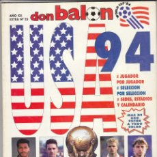 Coleccionismo deportivo: EXTRA DON BALON MUNDIAL USA 94. Lote 172397018