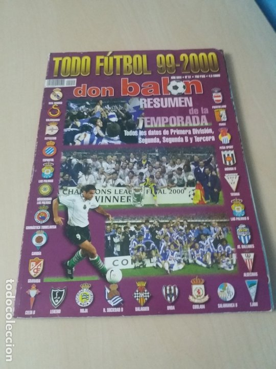 Coleccionismo deportivo: OFERTA - LOTE DE REVISTAS GUIA AS DON BALON + REGALO REVISTA DON BALON EXTRA 88 89 - LEER ANUNCIO - Foto 11 - 172834000
