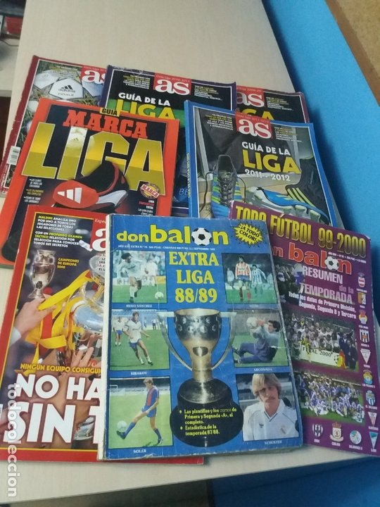 OFERTA - LOTE DE REVISTAS GUIA AS DON BALON + REGALO REVISTA DON BALON EXTRA 88 89 - LEER ANUNCIO (Coleccionismo Deportivo - Revistas y Periódicos - Marca)
