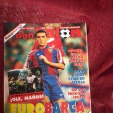 Coleccionismo deportivo: DON BALON 965 PÓSTER ZARAGOZA. Lote 173098003