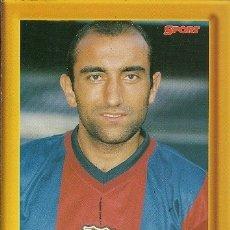 Coleccionismo deportivo: C F BARCELONA ABELARDO CAMPEON DE LIGA 98 99 SPORT. Lote 173425747