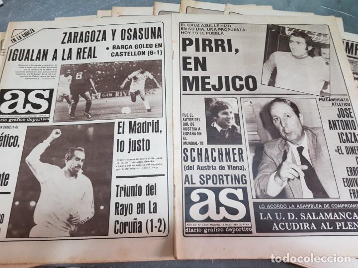 Coleccionismo deportivo: Periódicos Antiguos As años 80 lote 9 alguno escaso y buscado - Foto 2 - 173435823