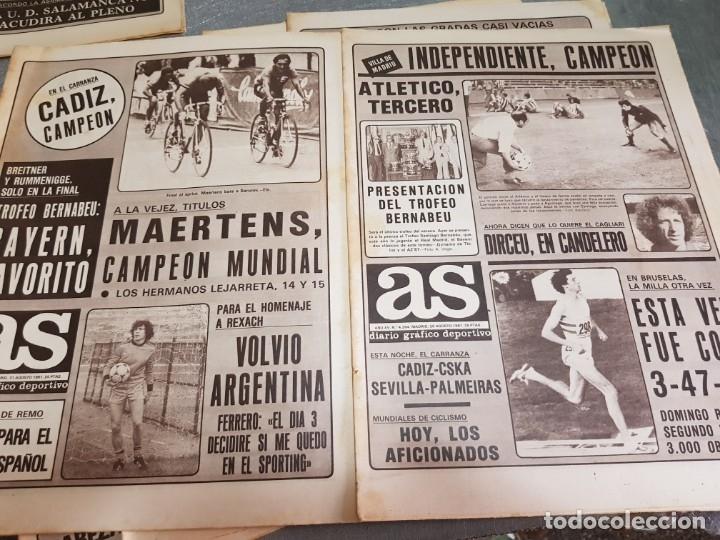 Coleccionismo deportivo: Periódicos Antiguos As años 80 lote 9 alguno escaso y buscado - Foto 3 - 173435823