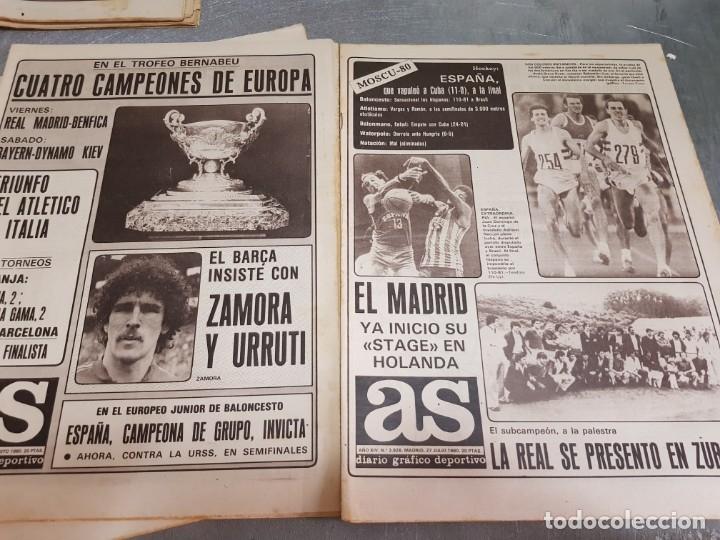 Coleccionismo deportivo: Periódicos Antiguos As años 80 lote 9 alguno escaso y buscado - Foto 5 - 173435823