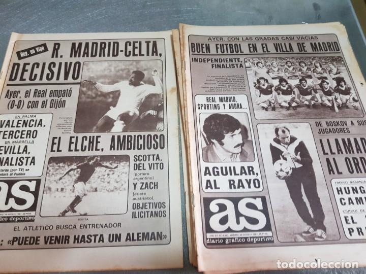Coleccionismo deportivo: Periódicos Antiguos As años 80 lote 9 alguno escaso y buscado - Foto 6 - 173435823
