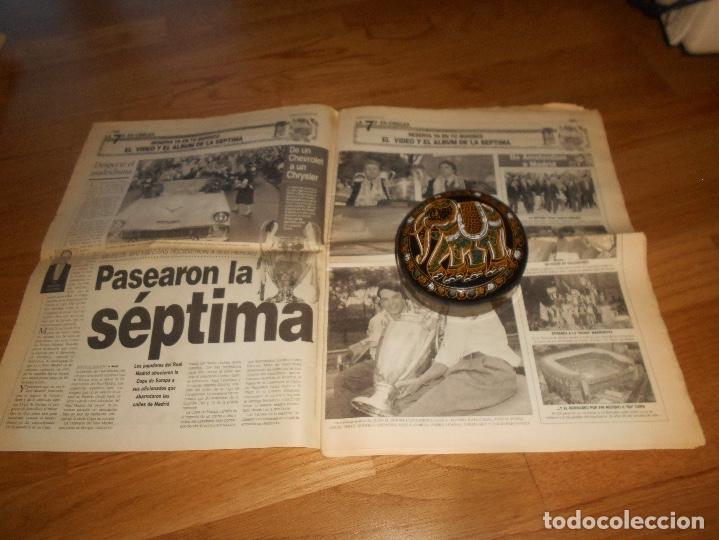 Coleccionismo deportivo: DIARIO MARCA 22/05/1998 - EXTRA HEPTACAMPEON DE EUROPA LA GLORIA DE LA 7 COPA DE EUROPA - Foto 2 - 173570668