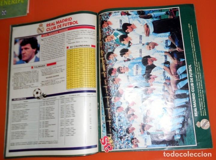 Coleccionismo deportivo: REVISTA AS COLOR EXTRA LIGA 1989-1990 Nº189 - FÚTBOL - REAL MADRID FC BARCELONA Todas las plantillas - Foto 2 - 173671582