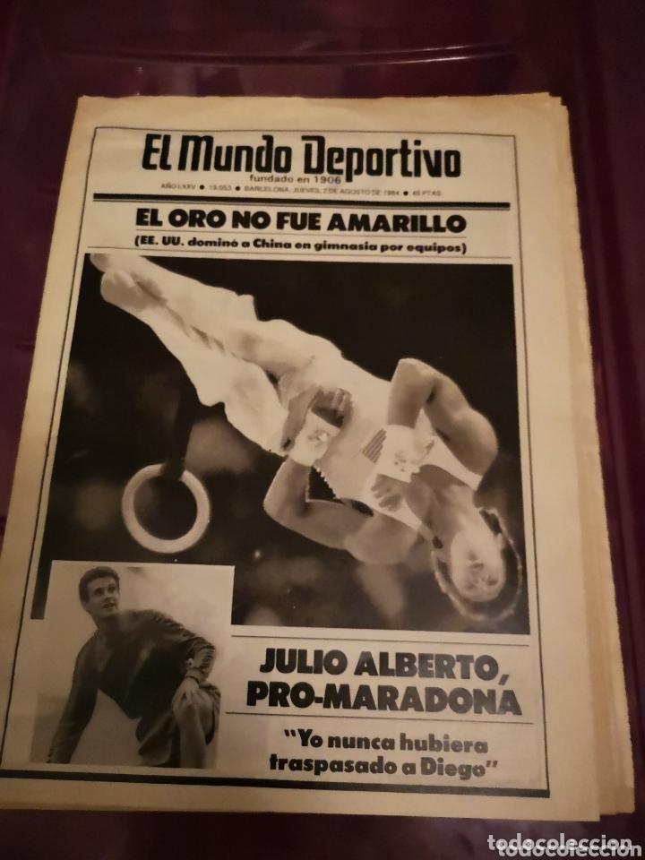 S2. 23. REVISTA. EL MUNDO DEPORTIVO. 2 DE AGOSTO DE 1984 (Coleccionismo Deportivo - Revistas y Periódicos - Mundo Deportivo)