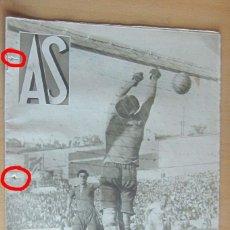 Coleccionismo deportivo: AS REVISTA SEMANAL DEPORTIVA, Nº 21, AÑO I, 25 OCTUBRE 1932 EN MUY BUEN ESTADO. Lote 173958535