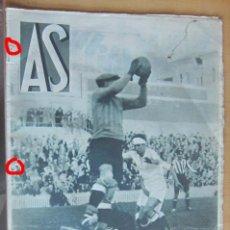 Coleccionismo deportivo: AS REVISTA SEMANAL DEPORTIVA, Nº 43, AÑO II, 27 MARZO 1933 EN MUY BUEN ESTADO. Lote 173958670