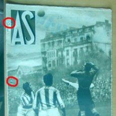 Coleccionismo deportivo: AS REVISTA SEMANAL DEPORTIVA, Nº 23, AÑO I, 8 NOVIEMBRE 1932 EN MUY BUEN ESTADO. Lote 173958768