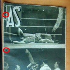 Coleccionismo deportivo: AS REVISTA SEMANAL DEPORTIVA, Nº 25, AÑO I, 22 NOVIEMBRE 1932 EN MUY BUEN ESTADO. Lote 173958919