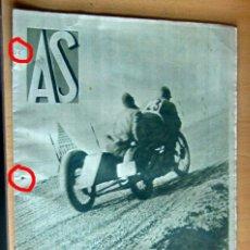 Coleccionismo deportivo: AS REVISTA SEMANAL DEPORTIVA, Nº 26, AÑO I, 28 NOVIEMBRE 1932 EN MUY BUEN ESTADO. Lote 173959144