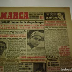 Coleccionismo deportivo: 21 PORTADAS DE DIARIO MARCA AÑO 1954. Lote 173991099