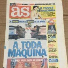 Coleccionismo deportivo: AS (22-11-1997) PREVIA ATHLETIC REAL MADRID SAN MAMES OVIEDO BARCELONA. Lote 174257275