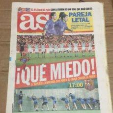Coleccionismo deportivo: AS (16-11-1997) REAL SOCIEDAD 0-0 ATLETICO MADRID BARCELONA PREVIA CELTA VIGO. Lote 174257725