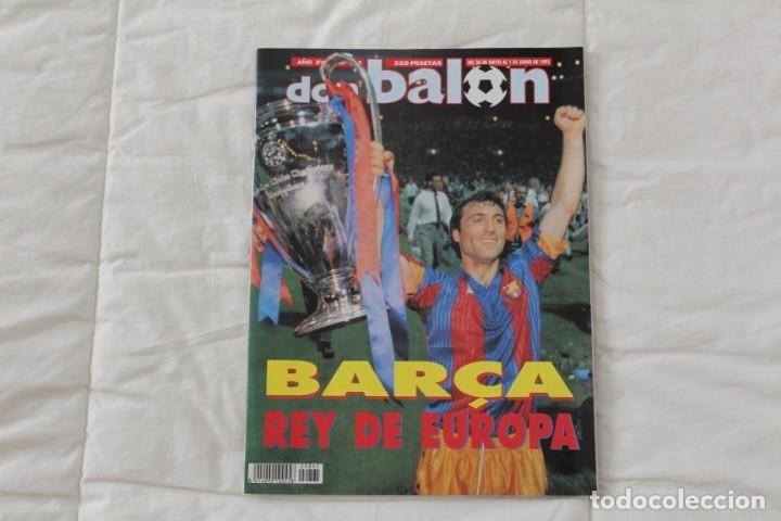 REVISTA DON BALÓN. Nº 865 CAMPEÓN BARCELONA WEMBLEY. PRIMERA COPA DE EUROPA. CHAMPIONS LEAGUE (1992) (Coleccionismo Deportivo - Revistas y Periódicos - Don Balón)