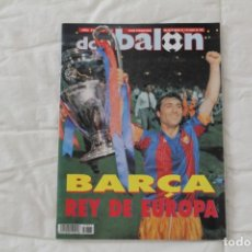 Coleccionismo deportivo: REVISTA DON BALÓN. Nº 865 CAMPEONES FC BARCELONA PRIMERA COPA DE EUROPA. CHAMPIONS LEAGUE (1992). Lote 174294394