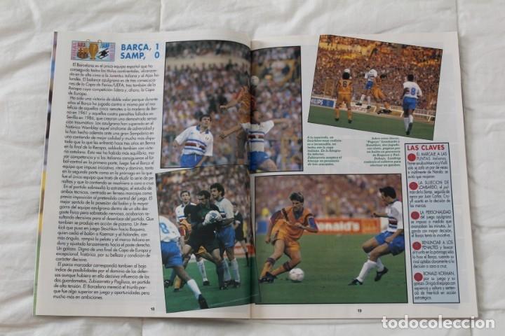 Coleccionismo deportivo: REVISTA DON BALÓN. Nº 865 CAMPEÓN BARCELONA WEMBLEY. PRIMERA COPA DE EUROPA. CHAMPIONS LEAGUE (1992) - Foto 4 - 174294394