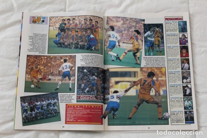 Coleccionismo deportivo: REVISTA DON BALÓN. Nº 865 CAMPEÓN BARCELONA WEMBLEY. PRIMERA COPA DE EUROPA. CHAMPIONS LEAGUE (1992) - Foto 5 - 174294394