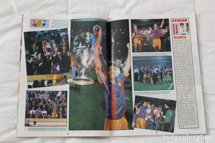 Coleccionismo deportivo: REVISTA DON BALÓN. Nº 865 CAMPEÓN BARCELONA WEMBLEY. PRIMERA COPA DE EUROPA. CHAMPIONS LEAGUE (1992) - Foto 6 - 174294394