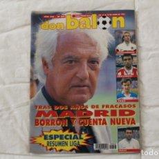 Coleccionismo deportivo: REVISTA DON BALÓN. Nº 868 ESPECIAL RESUMEN DE LA LIGA 91/92 (1992). Lote 174296005