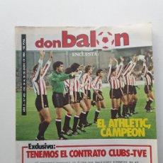 Coleccionismo deportivo: DON BALON Nº 433 - ENERO - 1984. Lote 174323865