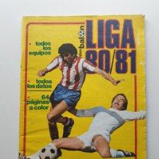 Coleccionismo deportivo: REVISTA DON BALON ' EXTRA LIGA 80/81 ' . Lote 174337198