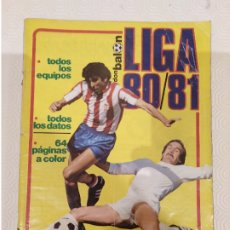 Coleccionismo deportivo: DON BALON EXTRA LIGA 80 81. COMPLETA.. Lote 175076982