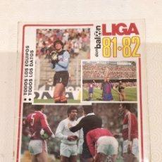 Coleccionismo deportivo: DON BALON EXTRA LIGA 81 82. COMPLETA.. Lote 175076997