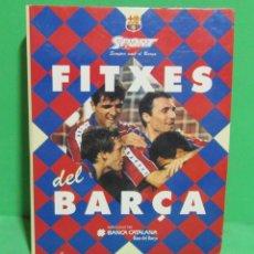 Coleccionismo deportivo: F.C. BARCELONA FITXES DEL BARÇA DIARI SPORT EN CATALÀ COL.LECCIÓ 39 FITXES. Lote 175090718