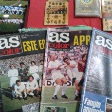 Coleccionismo deportivo: COLECCION AS COLOR ANTIGUA ; COMPLETA 557 NUMEROS 1971-1981 - CON POSTERS. Lote 175125740