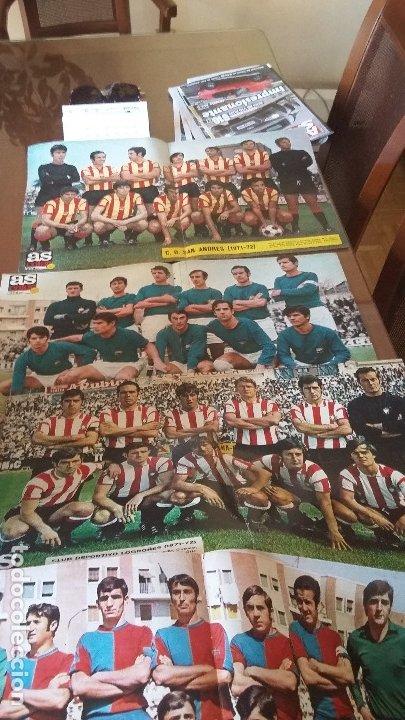 Coleccionismo deportivo: COLECCION AS COLOR ANTIGUA ; COMPLETA 557 NUMEROS 1971-1981 - CON POSTERS - Foto 7 - 175125740