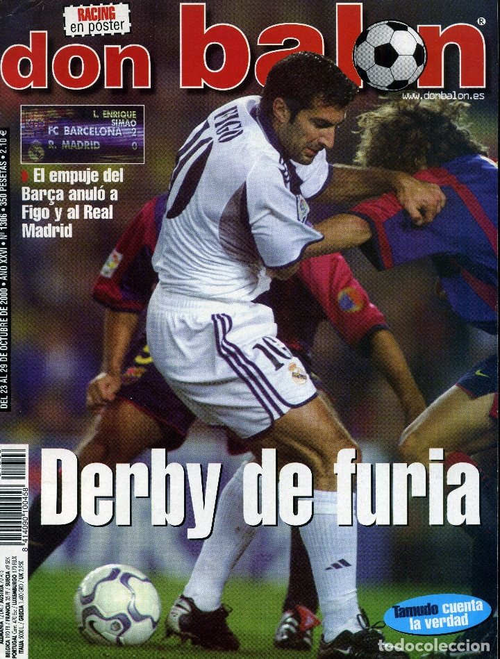 DON BALON - DERBY DE FURIA (Coleccionismo Deportivo - Revistas y Periódicos - Don Balón)