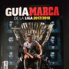 Coleccionismo deportivo: GUÍA MARCA DE LA LIGA 2017/2018. Lote 175183079
