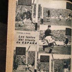 Coleccionismo deportivo: ALBUM DE 26 REVISTAS MARCA AÑOS 1940,41,42. Lote 175253248