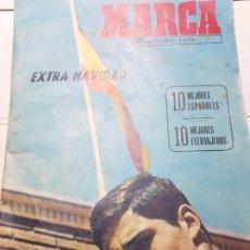 Coleccionismo deportivo: REVISTA MARCA 1970 EXTRA NAVIDAD -10 MEJORES ESPSÑOLES-. Lote 175329989