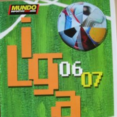Coleccionismo deportivo: MUNDO DEPORTIVO - ESPECIAL LIGA 2006-2007. Lote 175361552