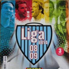 Coleccionismo deportivo: MUNDO DEPORTIVO - ESPECIAL LIGA 2008-2009. Lote 175361604