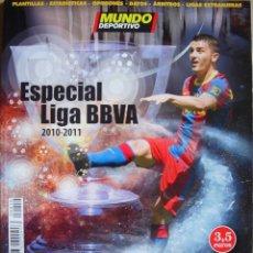 Coleccionismo deportivo: MUNDO DEPORTIVO - ESPECIAL LIGA 2010-2011. Lote 175361699