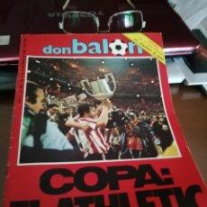 Coleccionismo deportivo: DON BALON. ATLETIC CAMPEÓN COPA REY . CAMPEÓN 1984. Lote 175448123
