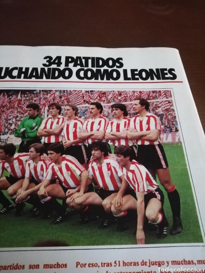 Coleccionismo deportivo: Don balon. atletic campeón copa rey . Campeón 1984 - Foto 2 - 175448123
