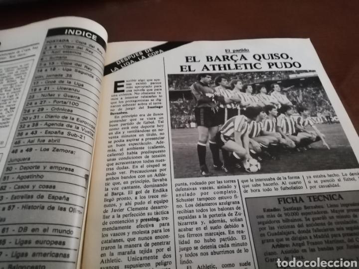 Coleccionismo deportivo: Don balon. atletic campeón copa rey . Campeón 1984 - Foto 3 - 175448123