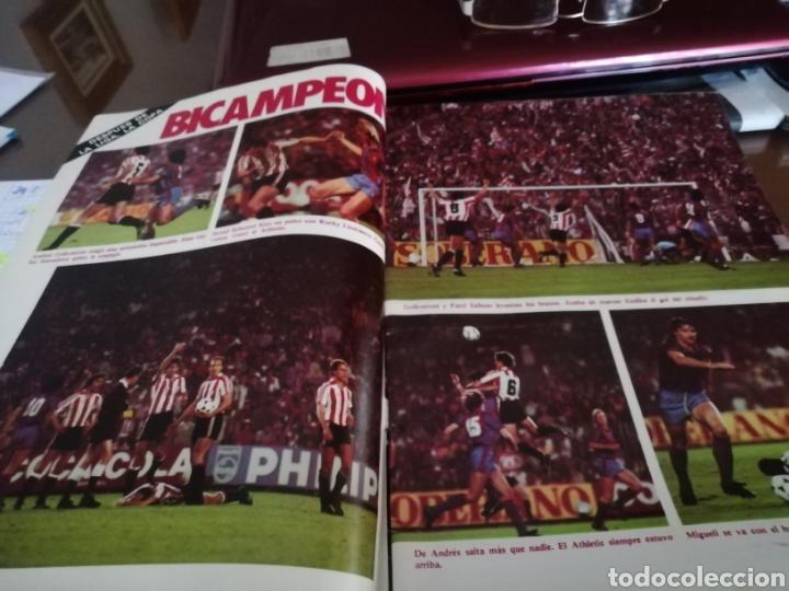 Coleccionismo deportivo: Don balon. atletic campeón copa rey . Campeón 1984 - Foto 4 - 175448123