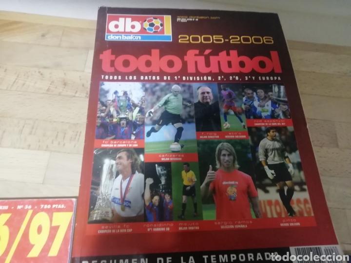 DON BALON EXTRA TODOFÚTBOL 2005 - 2006 (Coleccionismo Deportivo - Revistas y Periódicos - Don Balón)