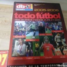 Coleccionismo deportivo: DON BALON EXTRA TODOFÚTBOL 2005 - 2006. Lote 175547812